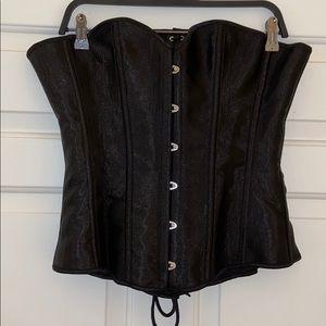 Other - NWOT Black corset